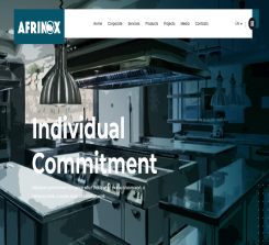 Afrinox Industrial Kitchen & Laundry Equipment
